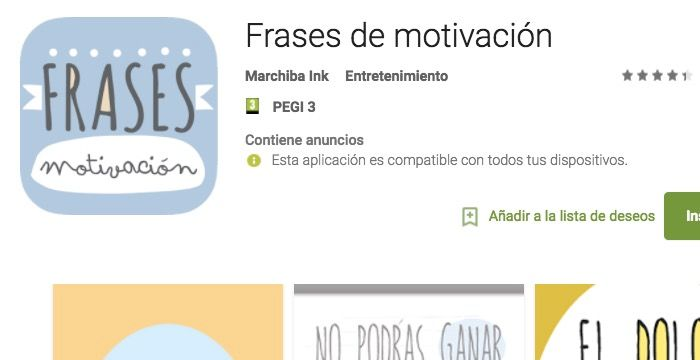 frases motivacion android app