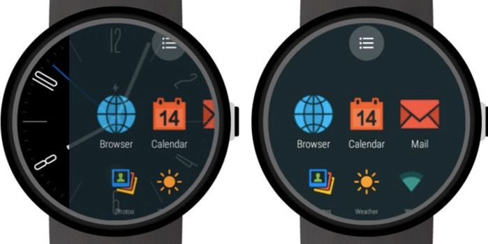 funcion deslizar android wear 2 0 app