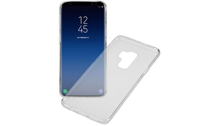funda transparente silicona galaxy s9 plus
