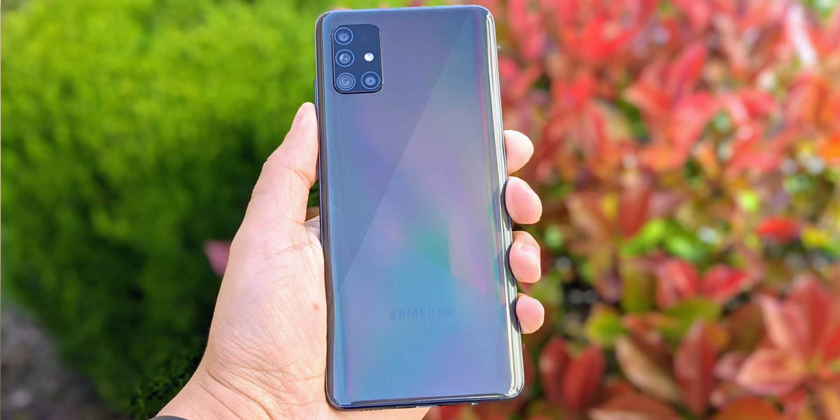 galaxy a51 gama media android 2020