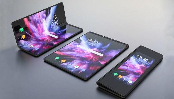 nuevo plegable de Samsung