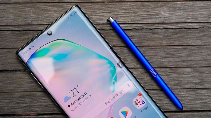 galaxy note 10 comparativa