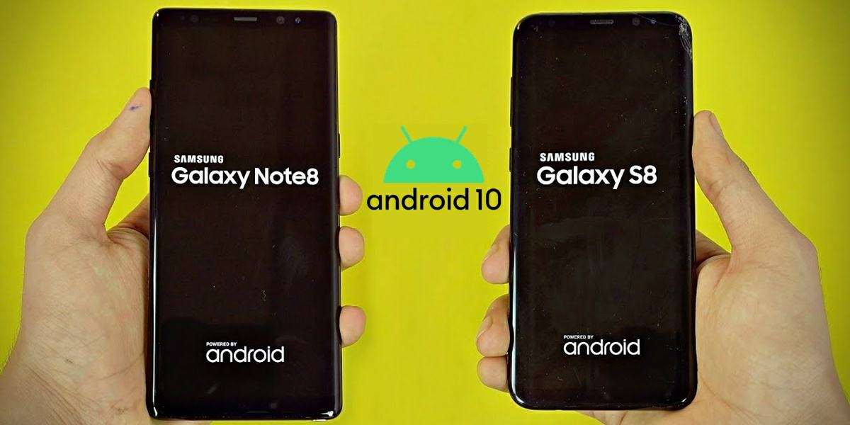 galaxy note 8 y s8 no actualizaran android 10