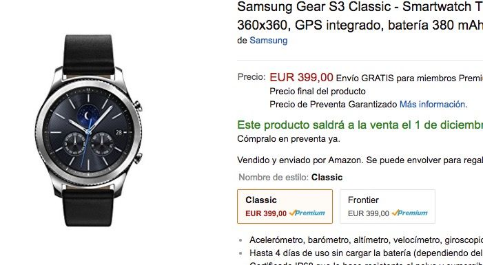 galaxy gear s3 oferta