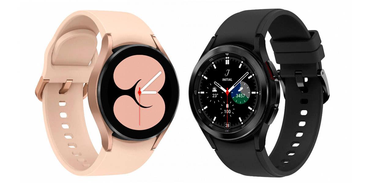 galaxy watch 4 diseño
