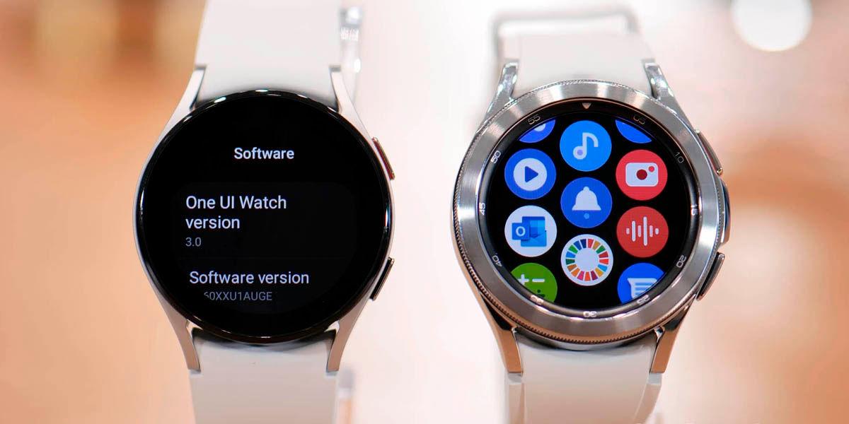 galaxy watch 4 wear os one ui