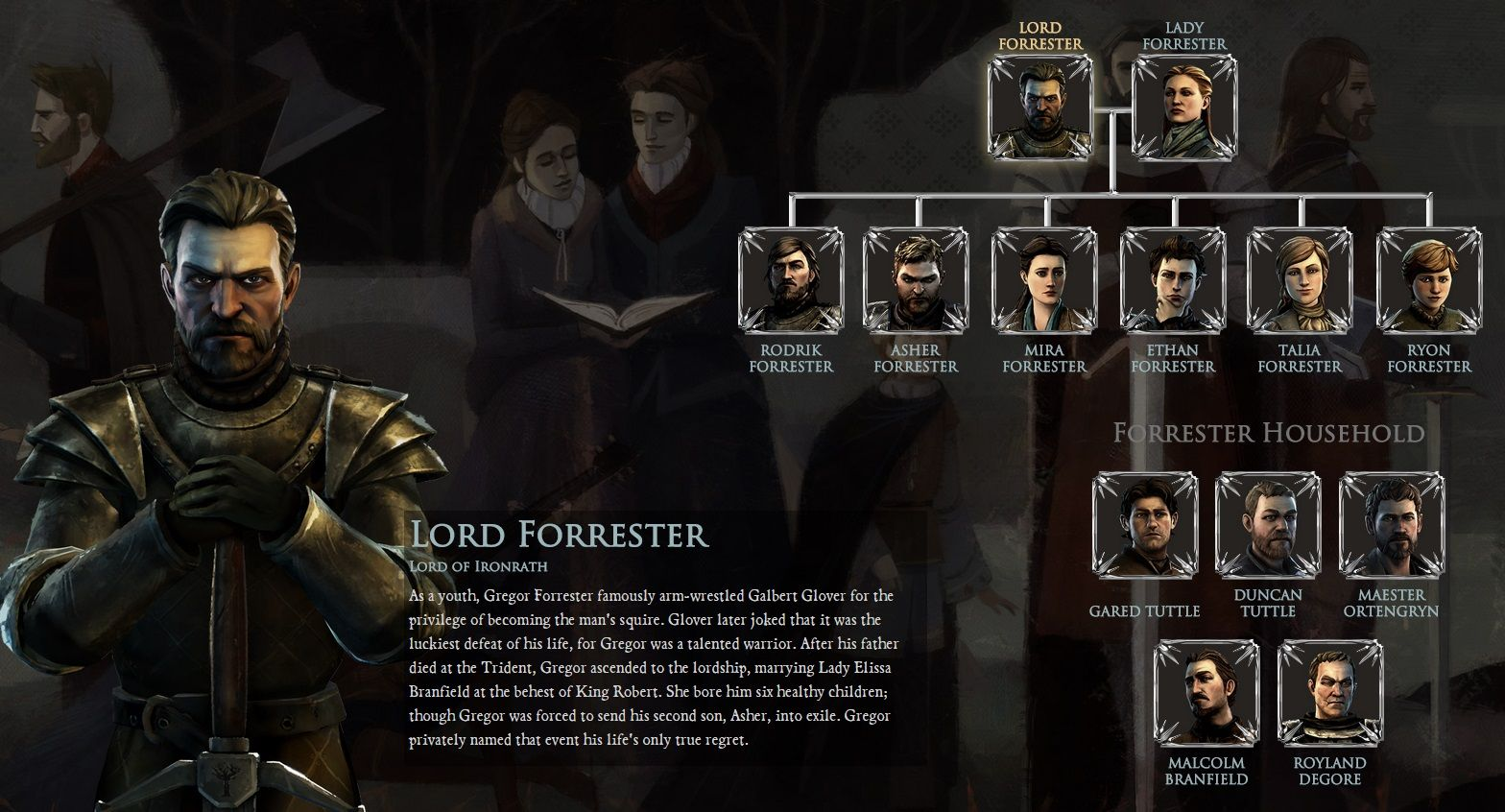 game of thrones forrester