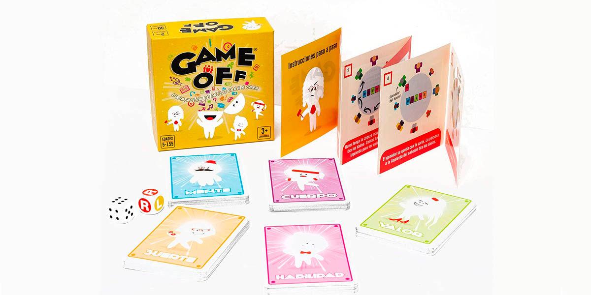 game off juego habilidad mental para jugar en familia