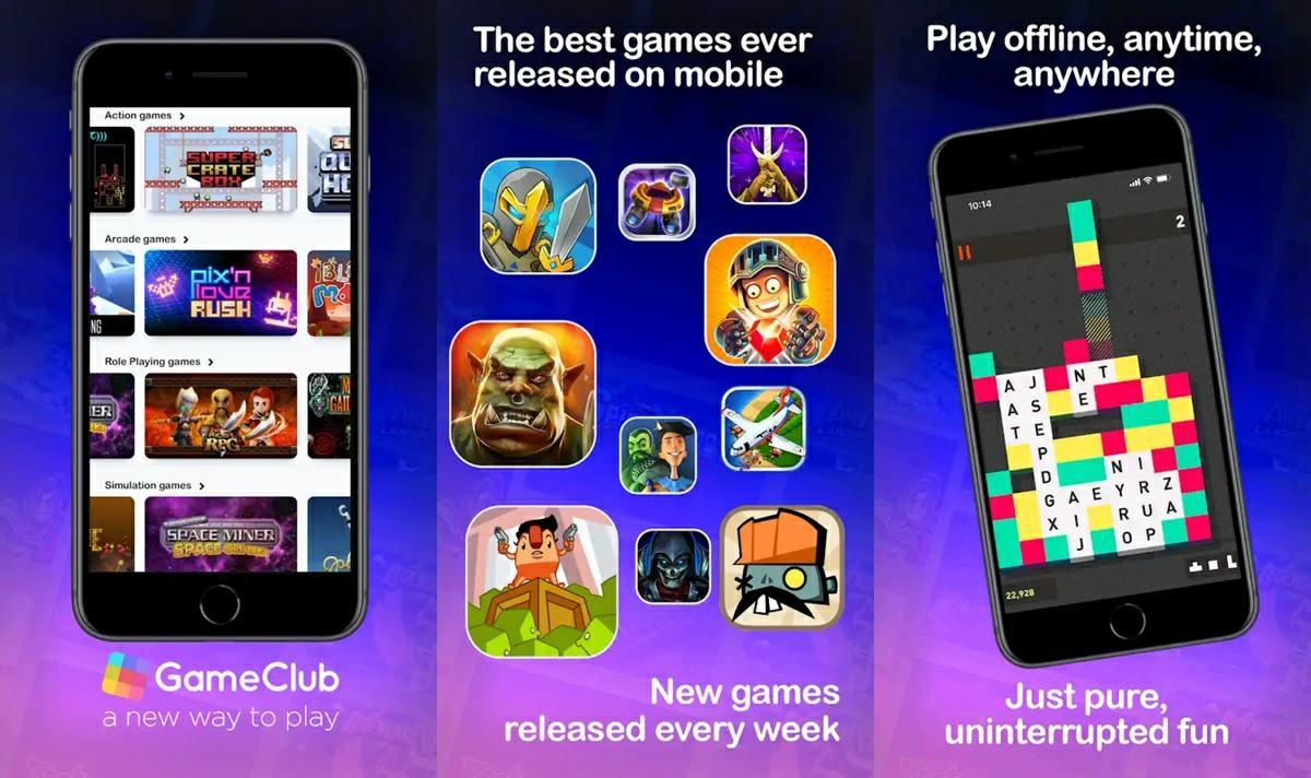 gameclub servicio de juegos premium por suscripcion en android
