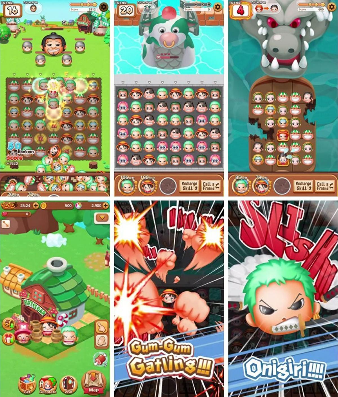 gameplay de One Piece Bon! Bon! Journey!!