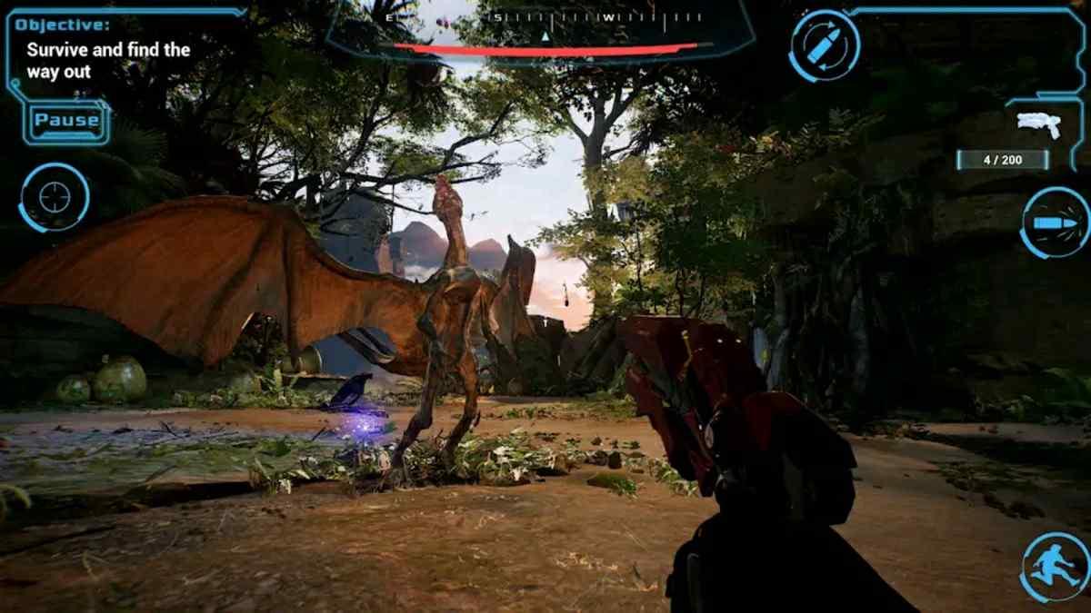 gameplay de Tauceti Unknow Origin en android