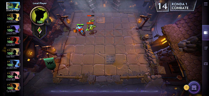 gameplay dota underlords