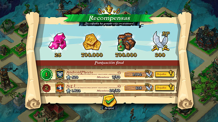 ganar escaramuzas en plunder pirates