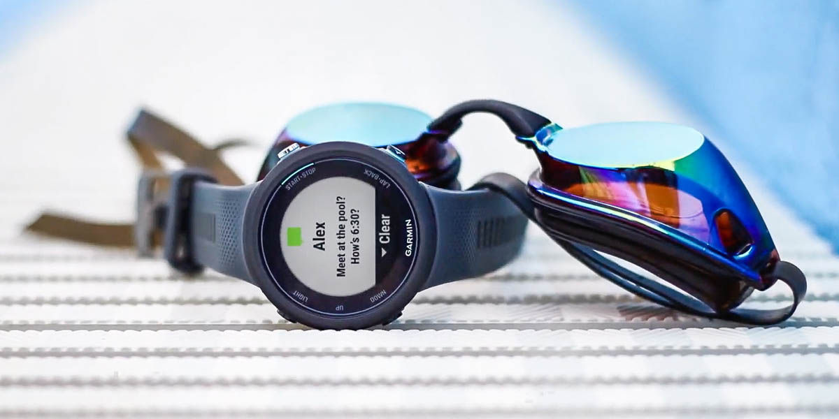 garmin swin 2 reloj inteligente para nadadores