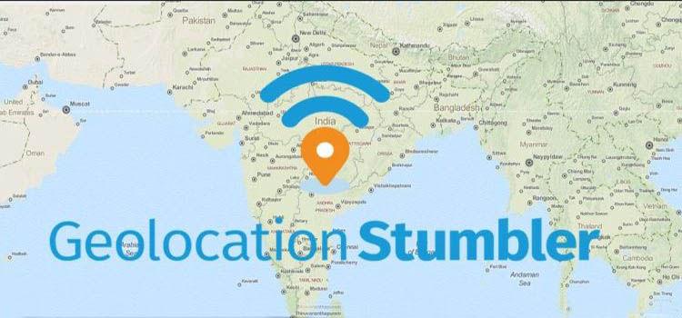 geolocalizacion stumbler