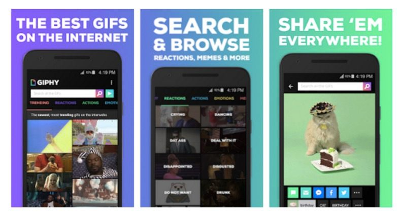 giphy para android