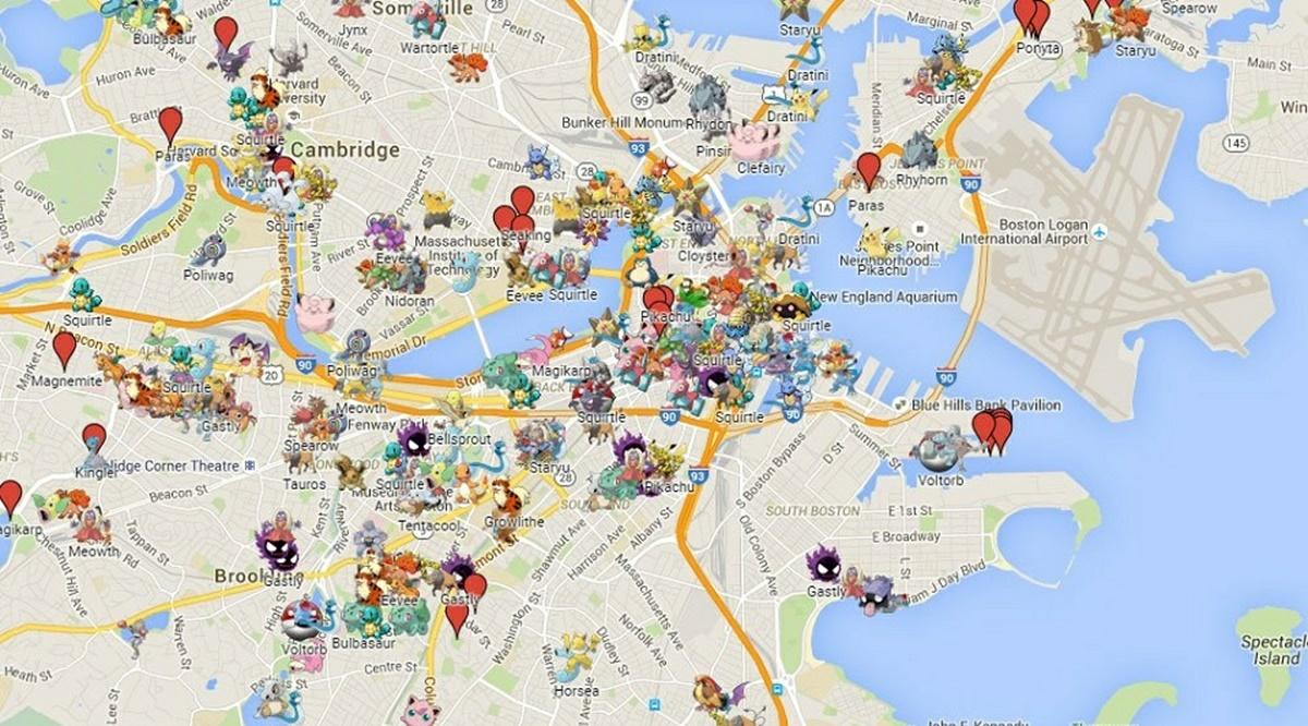 go map pokemon go