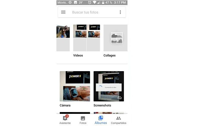 google photos videos