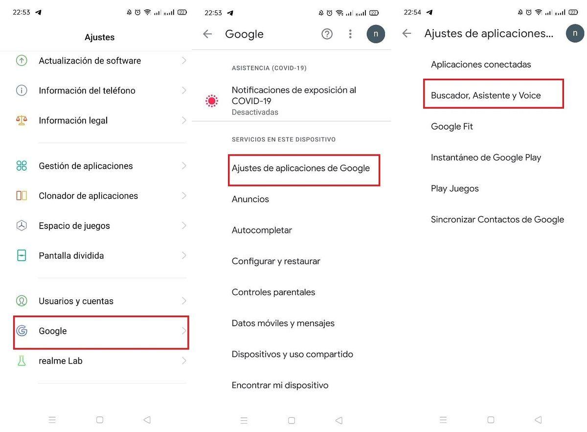 google assistant pasos