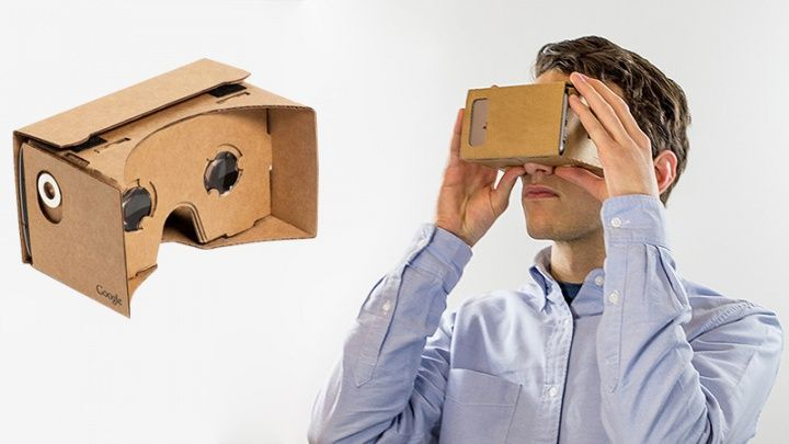 google cardboard visor realidad virtual