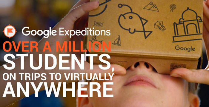 google expediciones para estudiantes