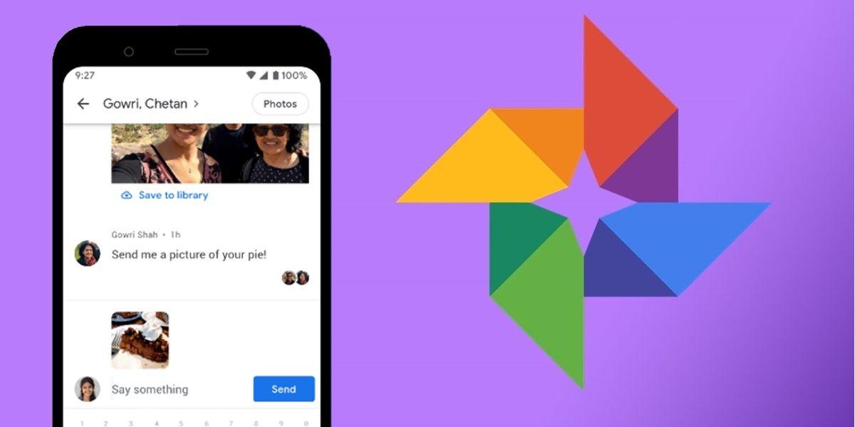 google fotos chat