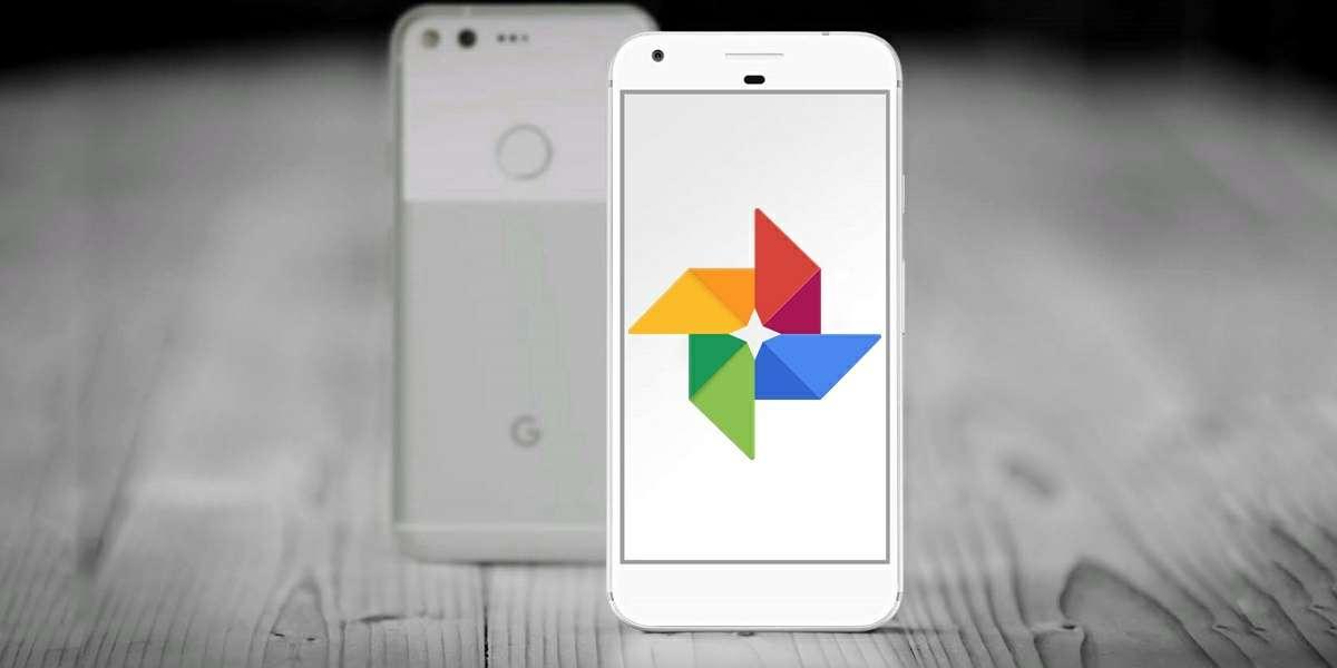 google fotos en pixel viejo