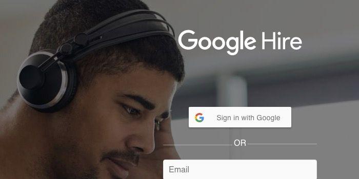 google hire aplicacion encontrar trabajo