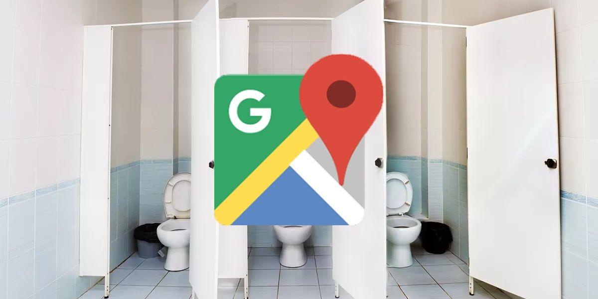 google maps ahora muestra banos publicos