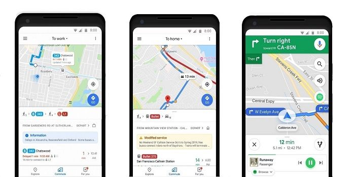 google maps asientos libres