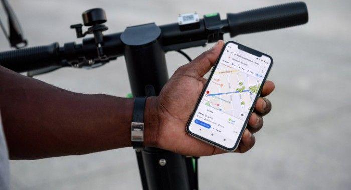 google maps bicicletas rutas