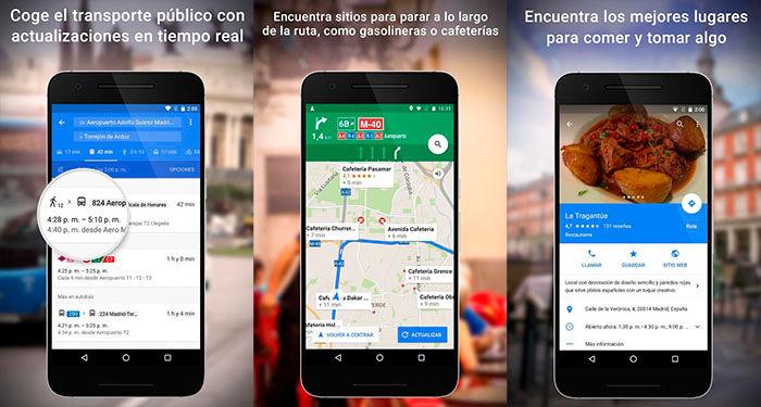 Google Maps descargar