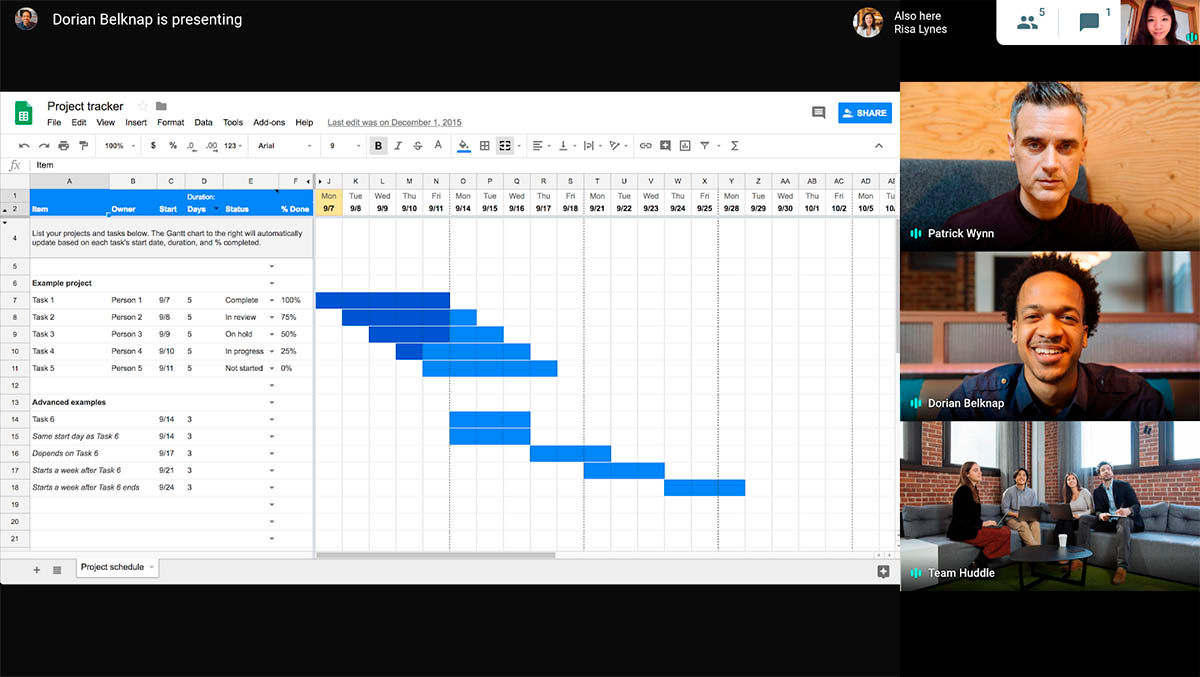 google meet videollamadas de 250 personas compatible con gsuite