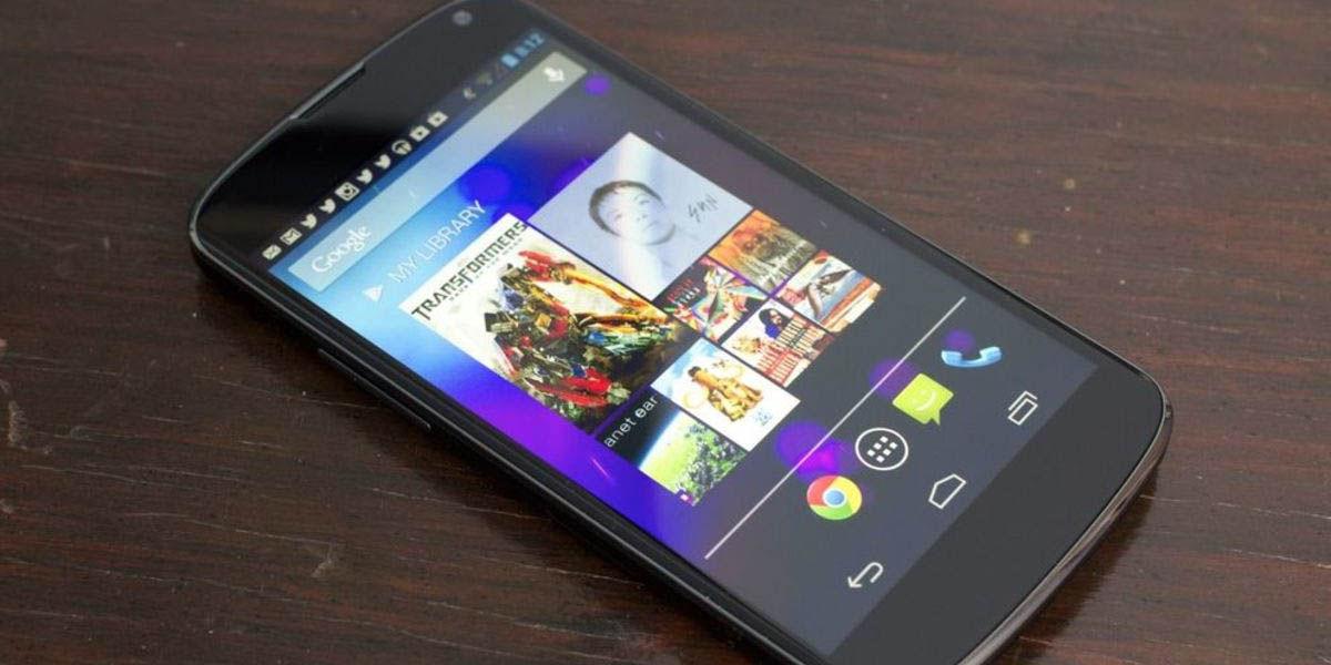 google nexus 4 mejor móvil 2012