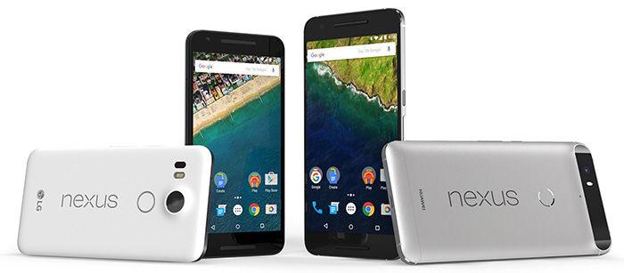 Google Nexus 5X y Nexus 6P