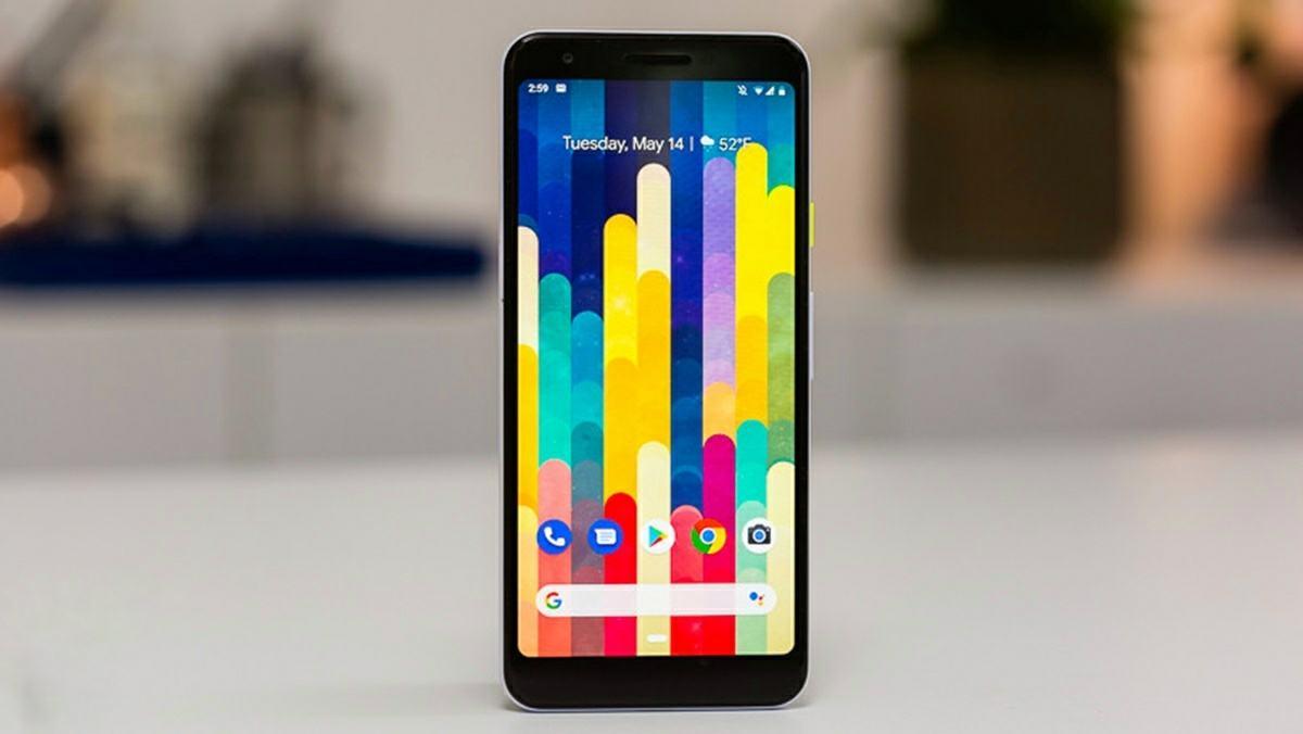google pixel 3a movil con jack de auriculares
