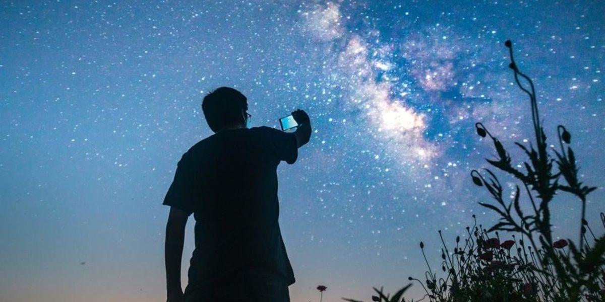 google pixel 4 modo astrofotografia