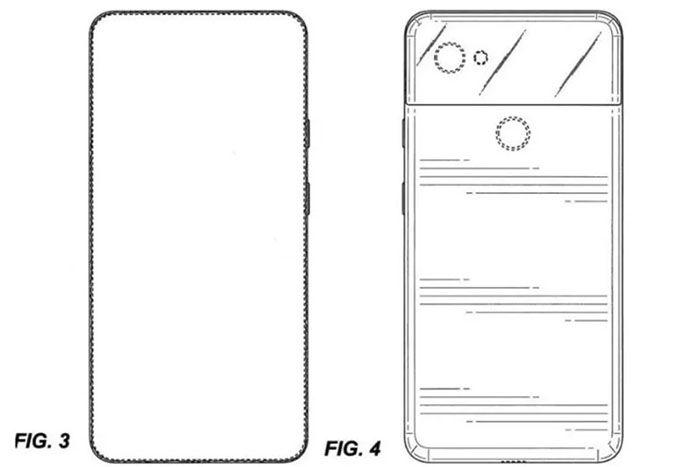 google pixel 4 patente