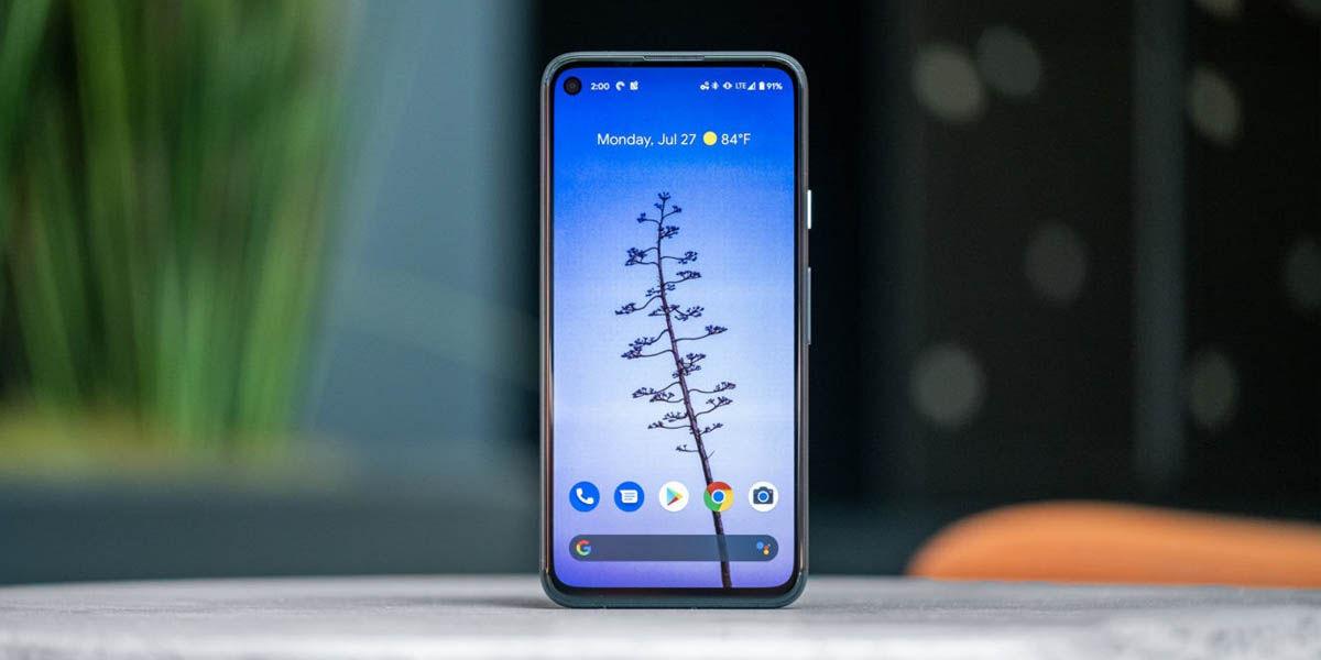 google pixel 4a smartphone compacto