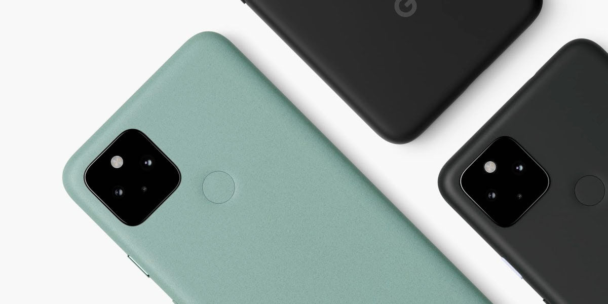 google pixel 5 diseño