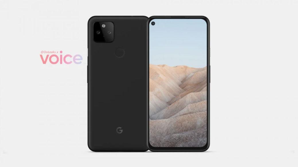 Google Pixel 5a filtración