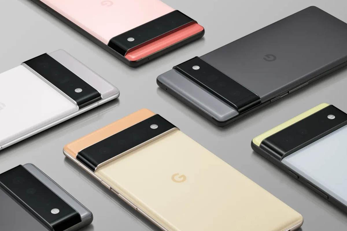 google pixel 6 y pixel 6 pro diseño oficial