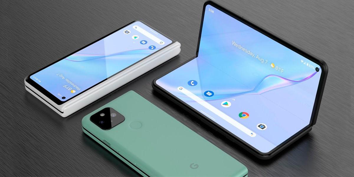 google pixel plegable concepto