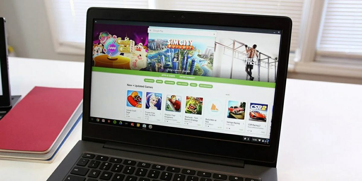 google play store en chromebook