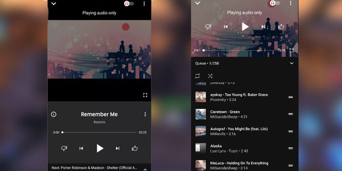 google propio spotify mejorado youtube music