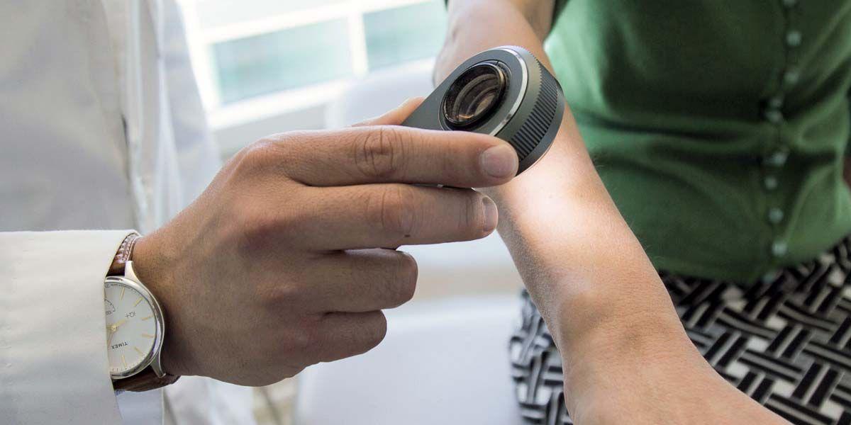google quiere detectar problemas de la piel con la camara del movil