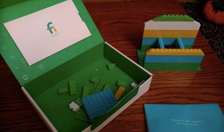 google regala kit lego