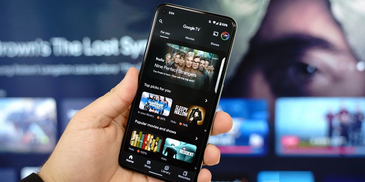 google tv app para android