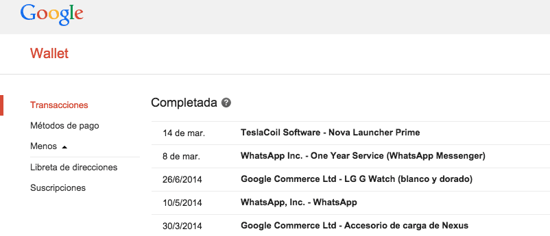 google-wallet-transacciones