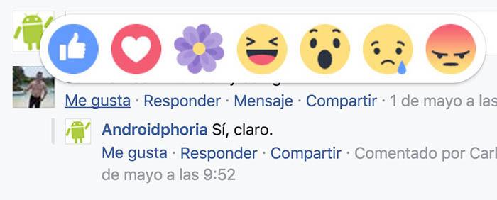 gracias comentarios facebook